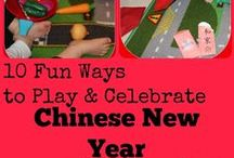 Chinese New Year fun for Kids / Ideas for ways to celebrate the Lunar New Year with young children. / by Play & Learn Every Day