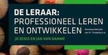 De lerende leerkracht / Op dit bord vind je interessante boeken en artikelen over de professionalisering van de leerkracht.