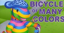 Dino-Buddies Books / Introducing our latest Award-Winning Book, 'The Bicycle of Many Colors'...  Visit our website to purchase.