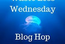 Waste Less Wednesday Blog Hop / Come link up your environmentally friendly posts every week at the #WasteLessWednesday blog hop beginning Tuesday CST at SkipTheBag.com