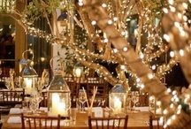 Weddings, Events and Parties / Lights, Decorations, Flowers and the Beauty of it All. / by Wanda Lakey