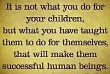 parenting tips & F.H.E. ideas / ideas for teaching children to be kind and responsible  / by Lynette McGraw