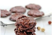 Drop Cookies  / These cookies are made from soft doughs that are dropped from a spoon onto the baking sheet.