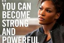 Queen Serena / You admire her form and fashion - get the looks she loves from Nike!