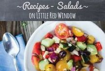 ~recipes - salads~ / by Cassie May - Little Red Window Crafts, DIY, Printables & Recipes
