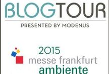 #BlogTourAmbiente - Stagetecture / I'm excited to join @Modenus' #BlogTourAmbiente to Frankfurt, Germany Feb 2015. Ambiente is one of the most important in the world, boasts over 4700 exhibitors from 89 countries with the USA being this year's official partner country with a pavilion curated by design star Scott Henderson. http://ow.ly/IaX4h