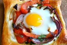 Breakfast ALL DAY! / Are you a breakfast or brunch lover who could eat it at anytime of day? Here's some of my favorite recipes for making this meal delicious anytime of day. http://stagetecture.com/category/inspiration/food-recipes/brunch-food-recipes/
