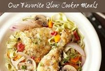Slow Cooker & Crock Pot Recipes / Don't we all love to start a slow cooker meal in the morning and come how to your crockpot recipe all finished! We do too :) Search Stagetecture: http://stagetecture.com/?s=slow+cooker