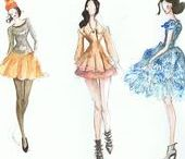 My Watercolours / Watercolour, designs, fashion and ply