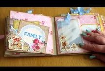 Scrapping MiniAlbums / by Monica Bourne