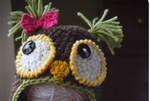 My Hats / These creations are mostly made with no pattern. If it has a pattern, I usually link to the pattern site. / by J Riley