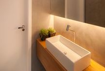 Banheiros e lavabos / by Jeito De Casa