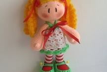 crochet dolls / by Christina