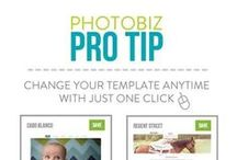 PhotoBiz Pro Tips / Great tips and tricks to help you maximize the effectiveness of your website and stand out from the crowd!