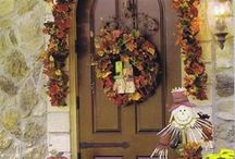 Make an Entrance! / Doors, Windows, porches, light fixtures,landscape features, exterior hardware, and of course house number signs ,all make an impact when it comes to curb appeal. Our Favourites!