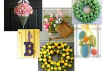 Welcome Home! / Beautiful accents to welcome family and friends to your address