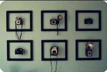 Fun Photo Decor / Products & ideas for decorating the home with some of our favorite tools...cameras!