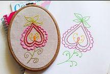 Craft Hoop Art supplies/ideas / by Monica Bourne
