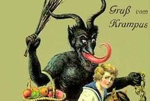 Krampus and other scary European imagery