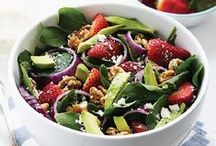 Salad Simplicity / Whether you're entertaining, enjoying a casual weeknight or exploring the kitchen for lunch, these nut-inspired salad recipes are sure to please! For more great recipes, visit us at www.diamondnuts.com.  / by Diamond Nuts