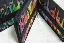 colored pencil art / 色鉛筆を使ったアートです。