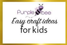 Easy craft ideas for kids / Kids bored at home? Here is a compilation of easy craft ideas for kids