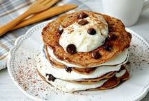PANCAKES / One for you, one for me, one for everybody! Stack' em up, drown them in syrup and more!