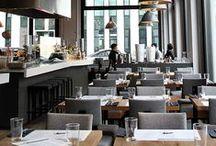 Interior / Grey / Braun / Dark / Design _ Interior _ Restaurant _ Grey _ Braun _ Dark