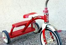 Ride on, rock on and get around toyz / Many toyz to ride, rock and scoot on. Keep little on busy and out of trouble