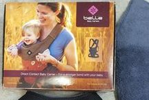 Carry your baby close / carriers, holders and hikers