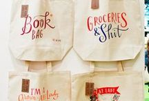 In love with tote bags
