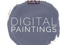 Digital Paintings by Beate