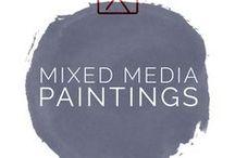 Mixed Media Art by Beate