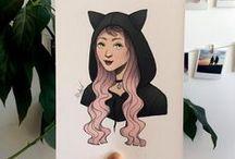 Ana Bidault: Print shop / Instagram: @anabidault - Fbook: Ana Bidault - Tictail: https://tictail.com/anabidault - Etsy: https://www.etsy.com/shop/AnaBidault