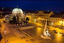 Pécs / Hungary-  Mecsek, Baranya ,  Magyarország ,Mediterrán város, Orfű, Pécsi-Tó