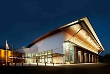 Jenks Trojan Aquatic Center by KSQ / An Olympic-quality competition pool, the Jenks Trojan Aquatic Center features both high design and high-end functionality.