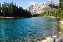 Summer in Banff / Summer is the most popular time to visit Banff for its hiking, biking, climbing and camping opportunities.