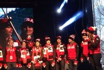 Canadian Olympic Team Block Party / Banff sent Canada's athletes to Sochi in style on January 11 at a the official Canadian Olympic Team Block Party