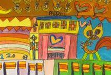 Bijzondere Kunst/Art / Kunstwerken ontstaan door creativiteit van de cliënten, werkzaam bij Atelier de Voordam, Alkmaar.