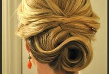 hair and dress style
