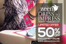 Mid Season SALE Summer 2014 / A women's ready to wear line by CAMBRIDGE.  We hope you enjoy exploring ZEEN as much as we enjoyed putting it together for you!  www.ZEENwoman.com