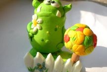 Monsters / Cute little monsters
