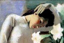 Paintings by artist To Ngoc Van / Paintings by artist To Ngoc Van