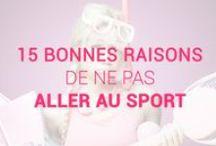 Le sport, c'est la vie ! / Parce qu'il nous est indispensable pour une santé de fer... Le sport, c'est la vie !