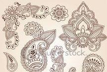 Minták, mintázatok -ethnic patterns