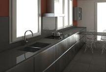 Plaça Comas | Proyecto de reforma de cocina / Estos son los renders 3D que nuestro departamento de diseño interior elaboró para la reforma de cocina que vamos a llevar a cabo en una vivienda de la Plaça Comas de Barcelona.
