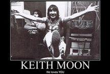 ##Keith Moon / Keith John Moon (Londra, 23 agosto 1946 – Londra, 7 settembre 1978)