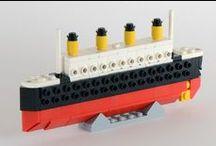 Lego - boats