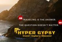 Hyper Trypsy Blogs / A blog set up with an aim to inspire the laziest of all to backpack and travel!