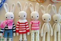 Conejos tejidos
